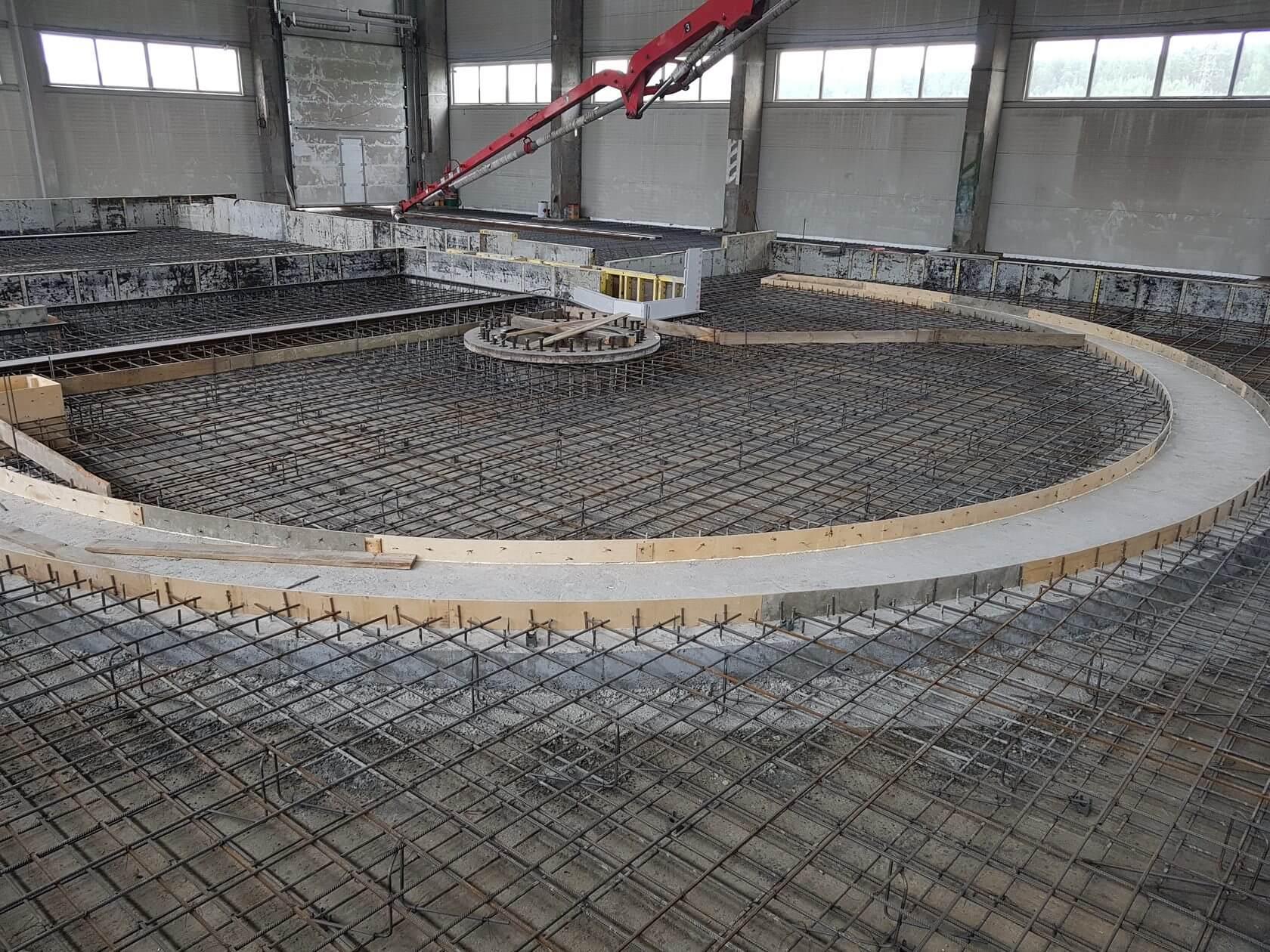 заказать промышленные бетонные полы