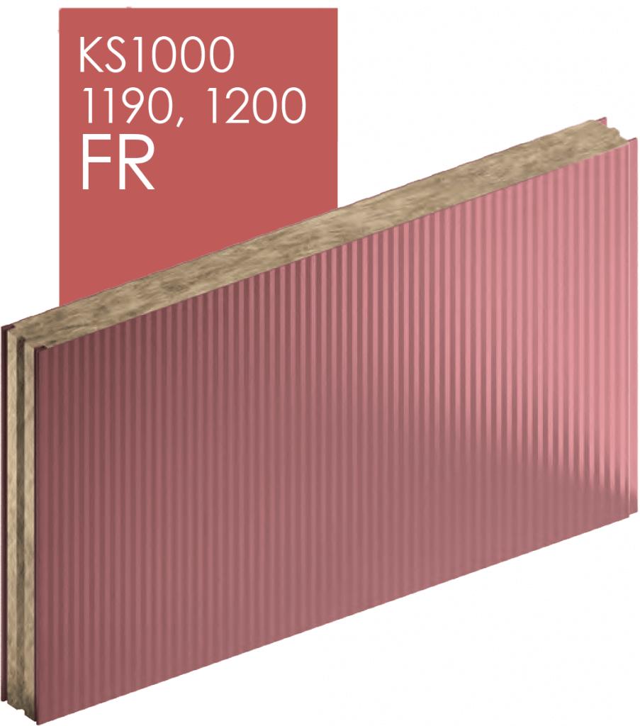 Замок сэндвич-панели KS1000, 1190, 1200 FR