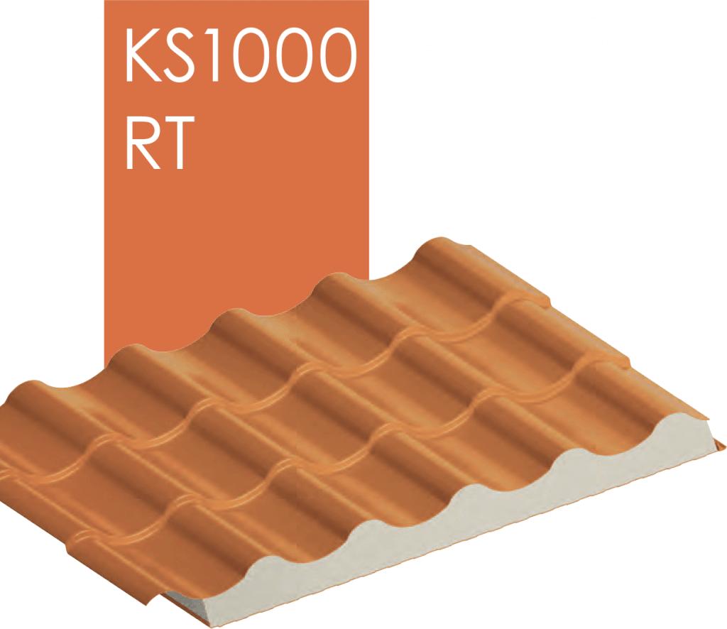 Профиль металлочерепицы KS1000 RT