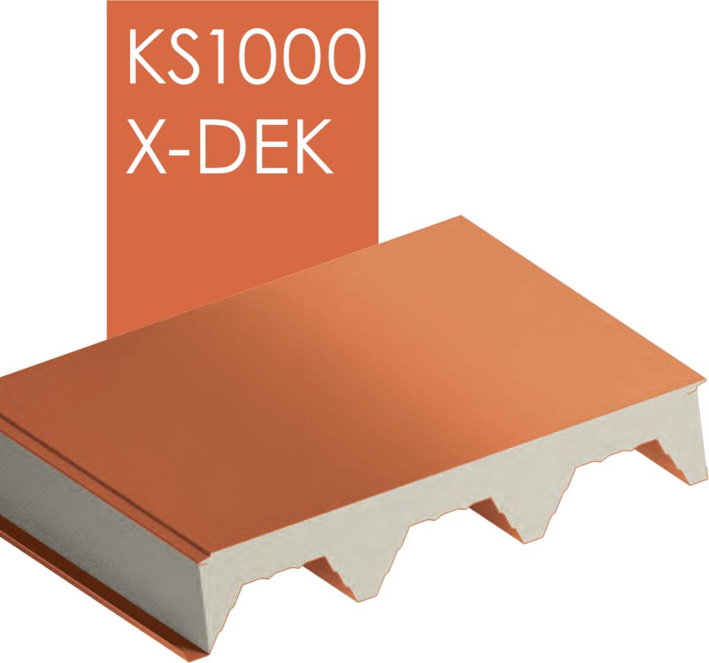 Панели KS1000 X-DEK фото