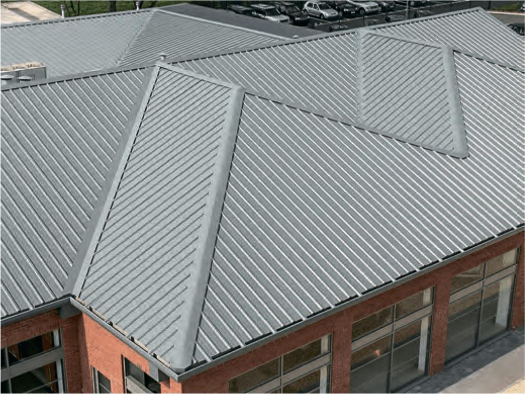 Крыша из панелей фото