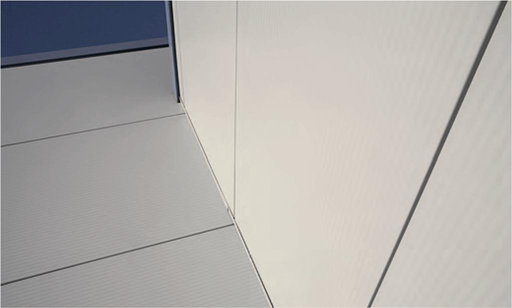 Оформление здания из фасонных элементов King Span