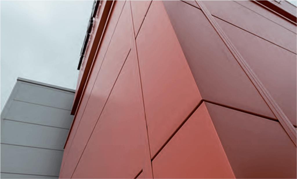 Пример использования фасонных элементов KingSpan