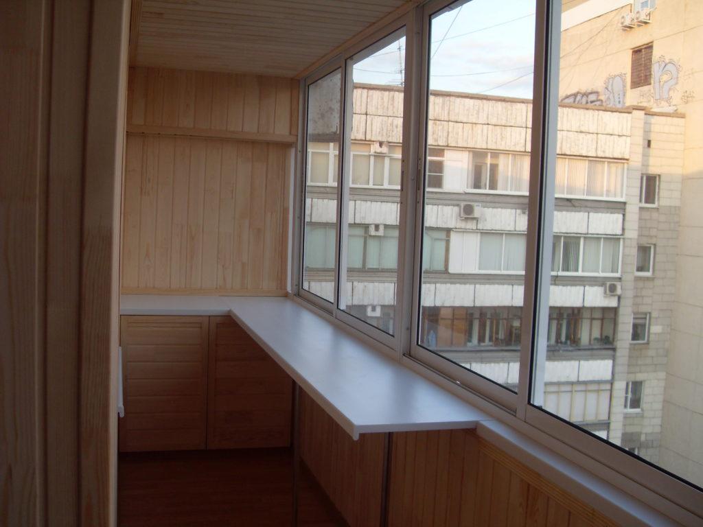утепленный балкон